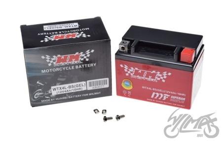 Akumulator WM MOTOR - YTX4L-BS