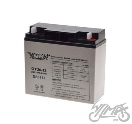 Akumulator żelowy 12V20AH  WM MOTOR 12V