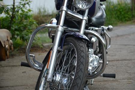 Gmole przednie SENTOCOM - H-D Sportster 2004-2011