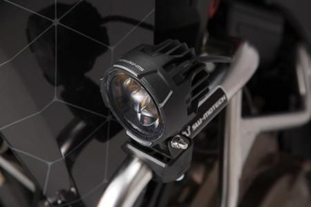 Halogeny zestaw lamp przeciwmgłowych Przeciwmgielnych Led EVO para SW-MOTECH