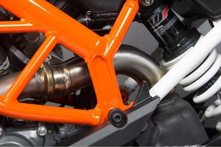 KTM Duke 390 17/18 Catalyst Removal Pipe Dekat Pipe RKT83CR