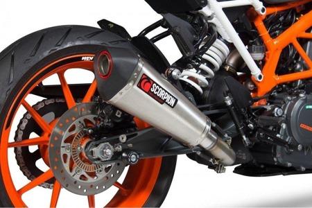 KTM Duke 390 17/18 Serket Taper Slip-on  STAL NIERDZEWNA RKT83SEO