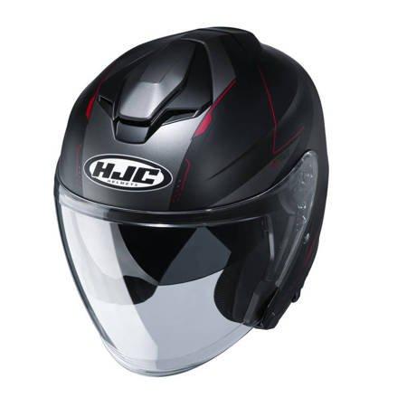 Kask HJC I30 SLIGHT czarno czerwony