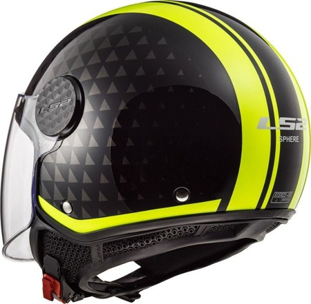 Kask otwarty LS2 OF558 SPHERE LUX CRUSH BL H-V
