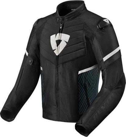 Kurtka tekstylna Rev'it ARC H2O czarno-biała
