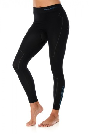 Termoaktywne spodnie damskie BRUBECK THERMO czarne