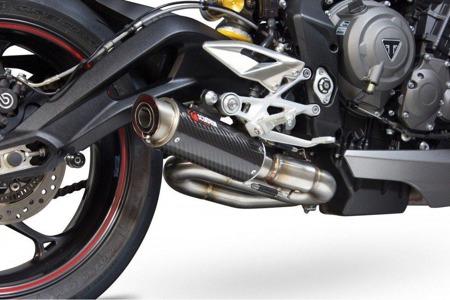 Triumph Street Triple 765 17/18 RP1-GP Slip-on Carbon TR1001CEM