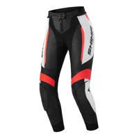 Damskie spodnie skórzane SHIMA MIURA 2.0 czarno biało czerwone